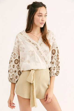 Harmony Embroidered Blouse