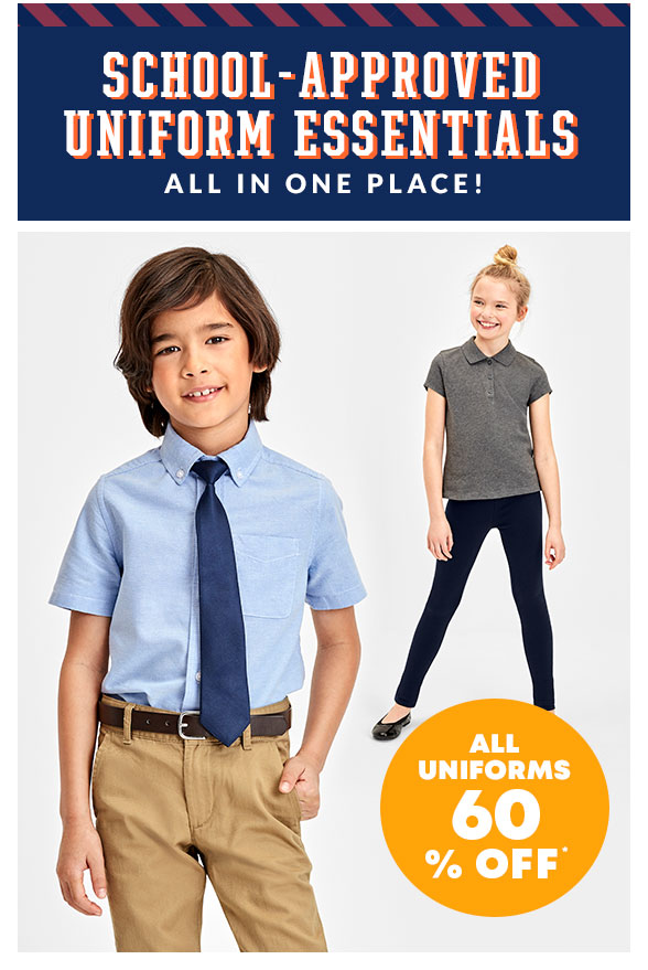 Uniforms 60% off
