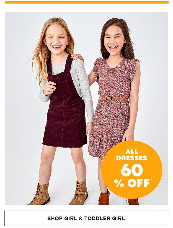 All Dresses 60% Off