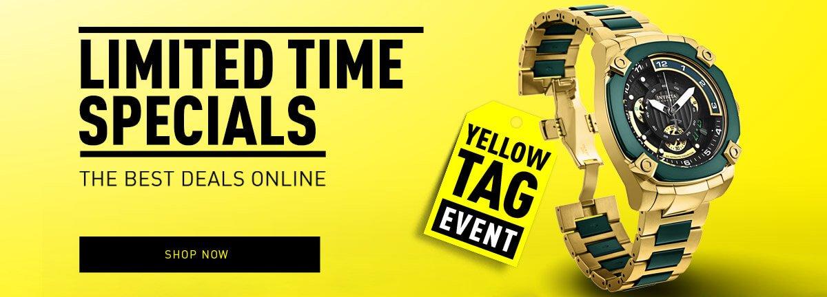 Invicta Yellow Tag Event Sale