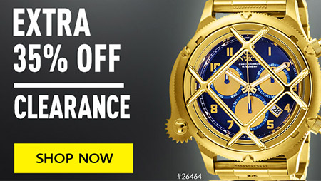Invicta clearance extra 35% off