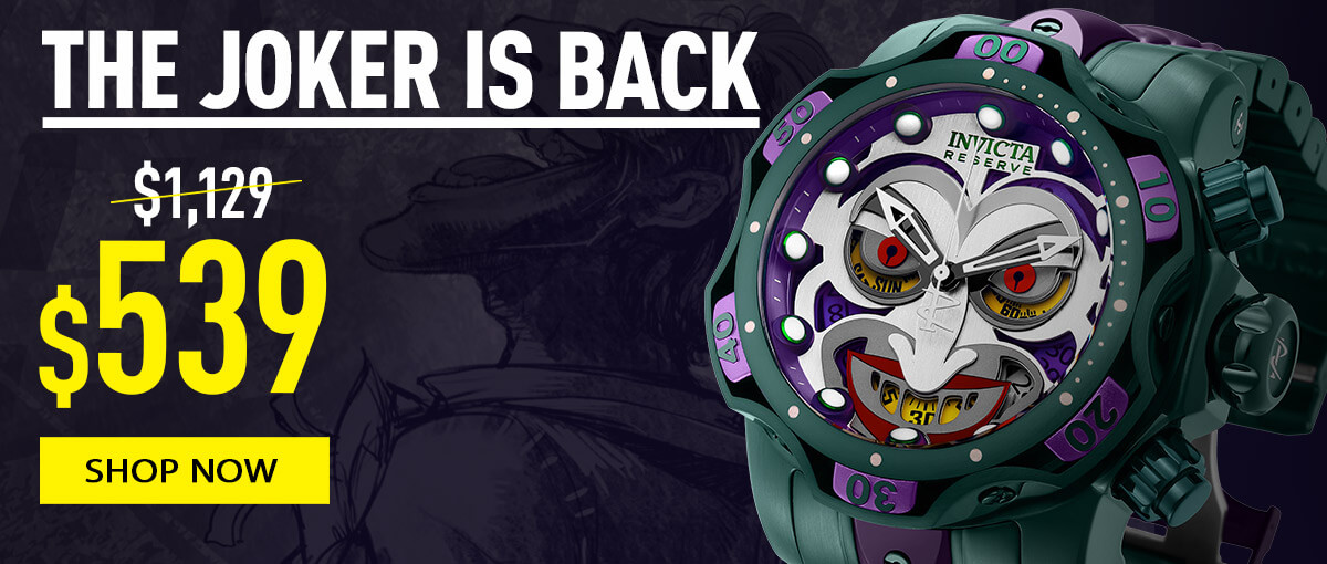 invicta the joker is back