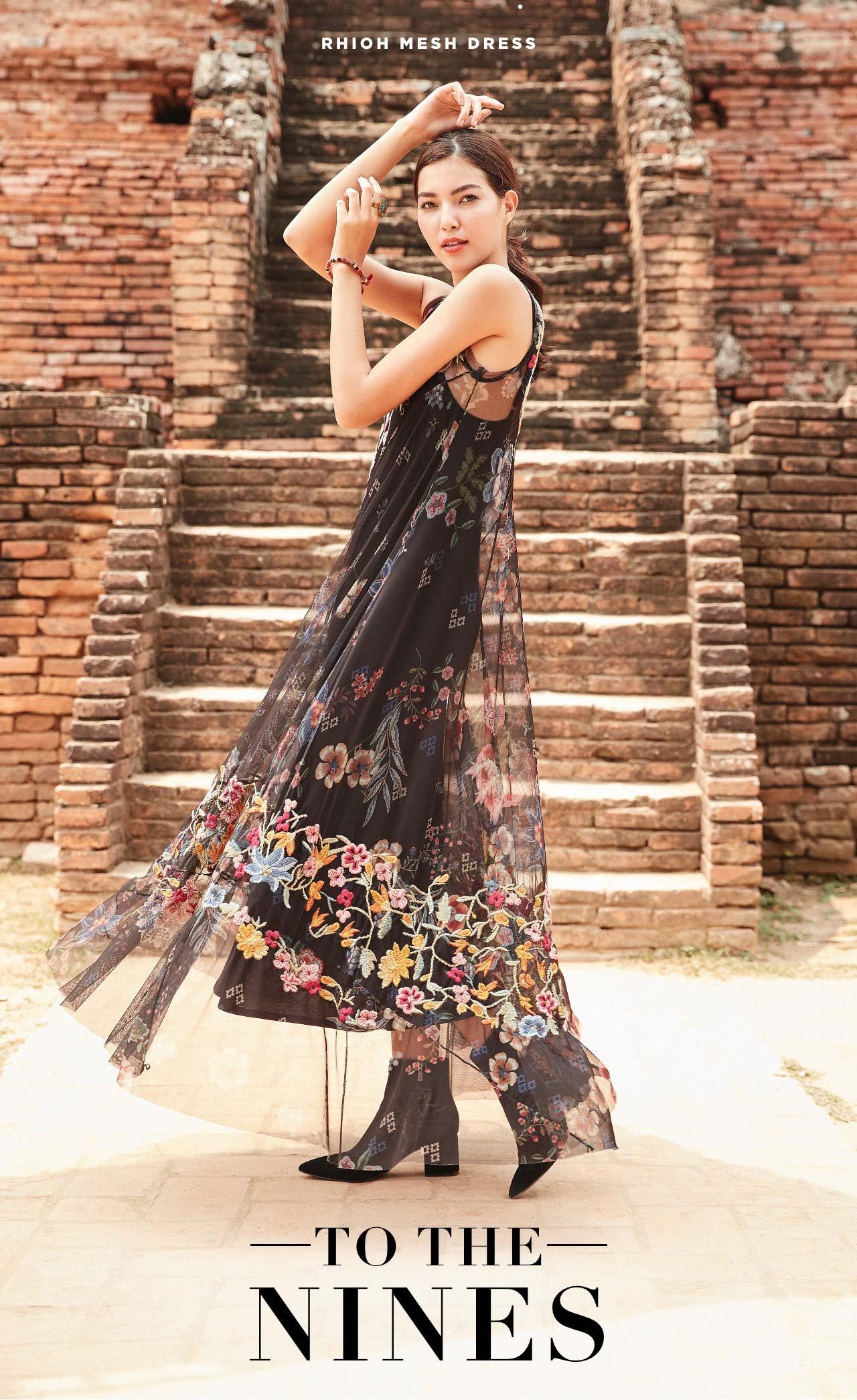 To The Nines - Rhioh Mesh Dress