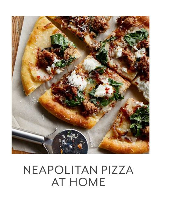 Neopolitan Pizza at Home