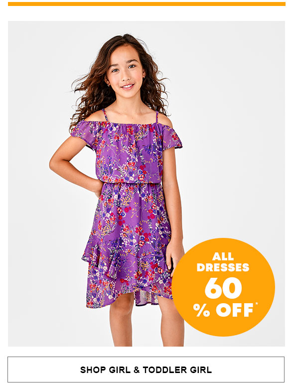 All Dresses 60% Off