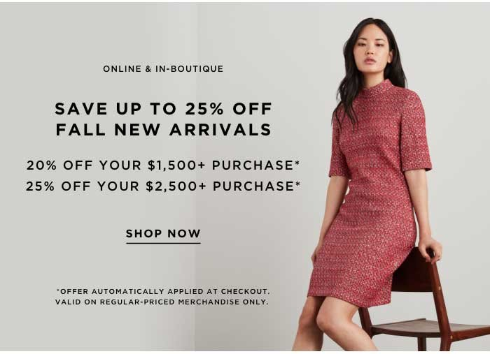 Shop Fall Event Now.
