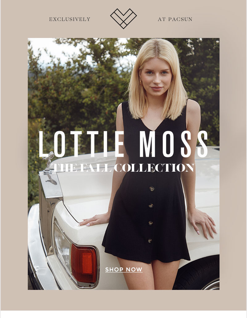 shop lottie moss fall colletcion