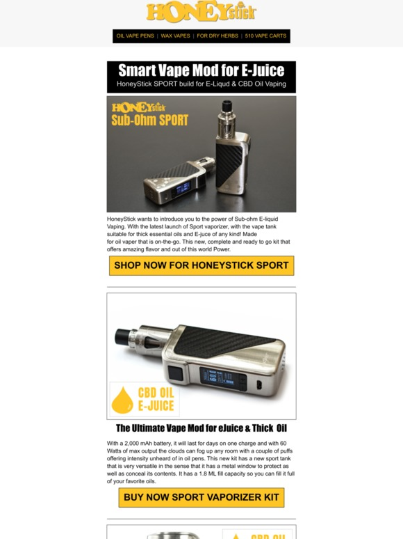 VPR Brands, LP: Super-Smart Vape Mod for E-Juice & CBD Oils