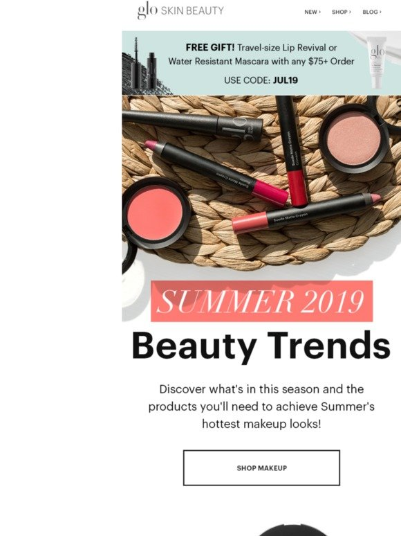 Glo: 5 🔥 Summer Beauty Trends   Milled