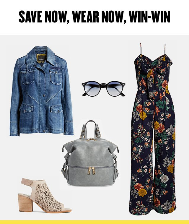 Save now, wear now: women's summer favorites at Anniversary sale.