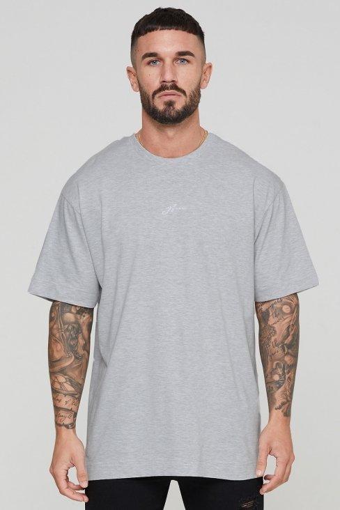 Oversized Autograph Grey T-shirt