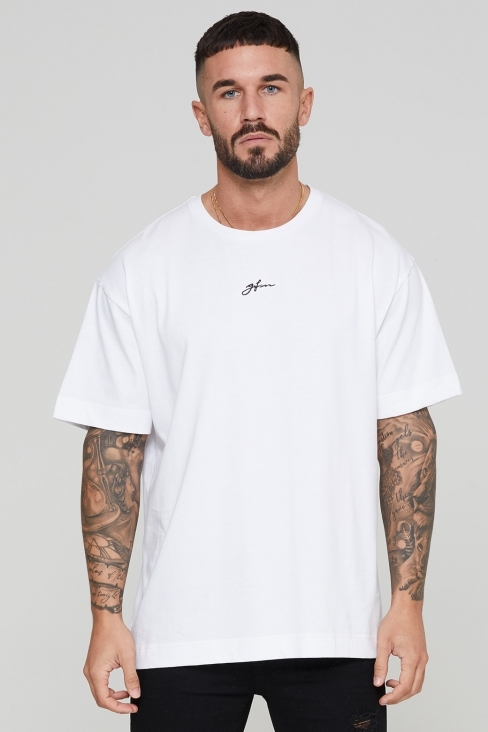 Oversized Autograph White T-shirt