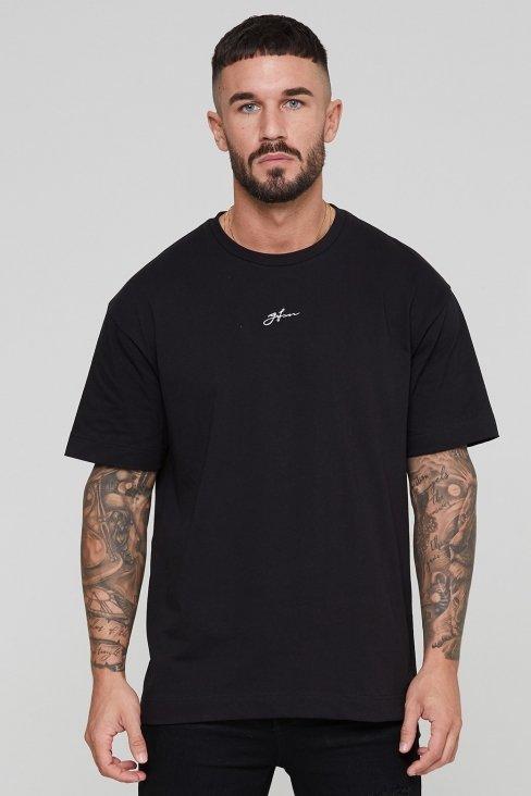Oversized Autograph Black T-shirt