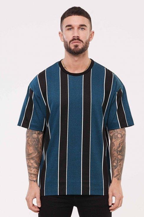 Strand Oversized Teal T-Shirt
