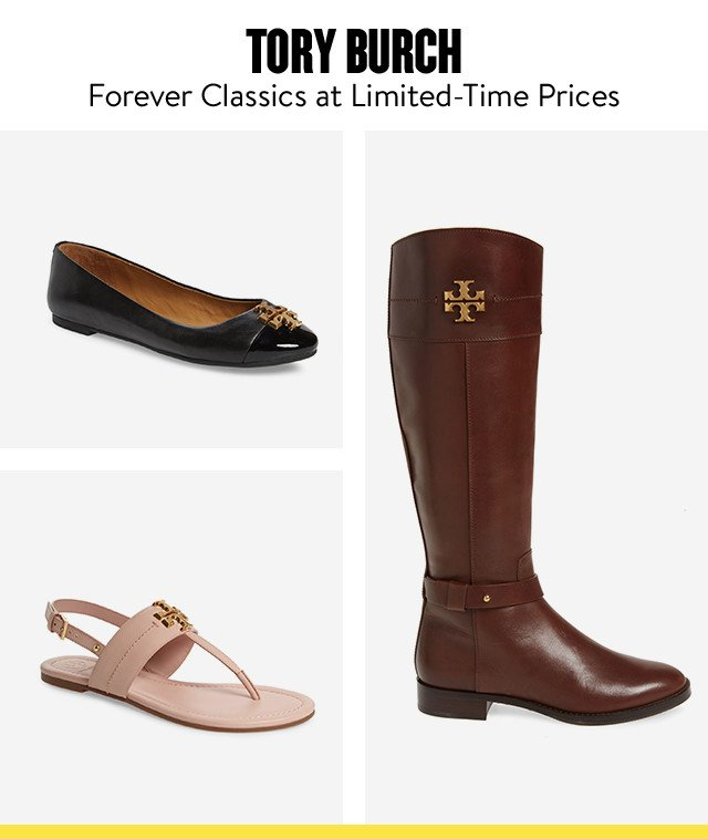 Tory Burch shoes at Anniversary Sale.