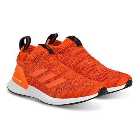 adidas Performance Red RapidaRun Knit Running Trainers
