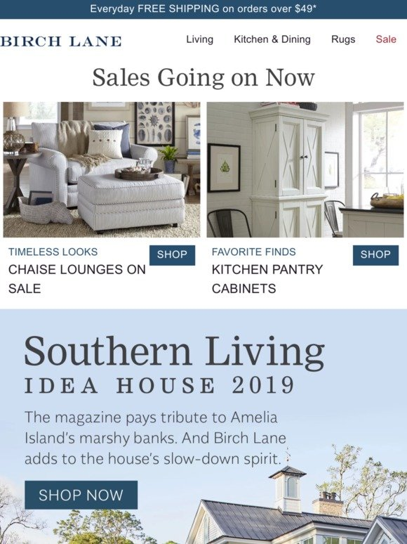 Birch Lane Email Newsletters Shop Sales Discounts And Coupon Codes Page 26