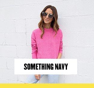 Something Navy at Anniversary Sale.