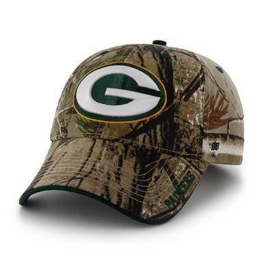 Image of Packers Realtree Frost Camouflage Cap - Mens