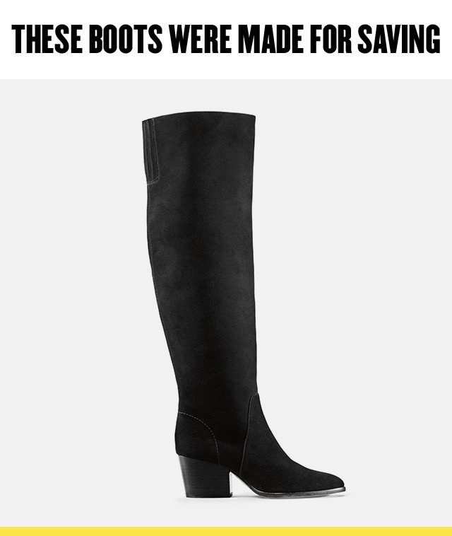 Women's boots at Anniversary Sale.