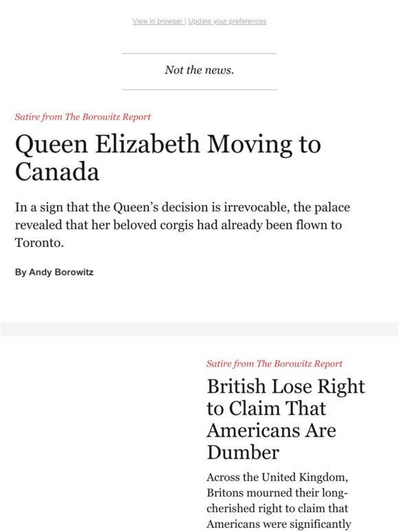 TheNewYorker com: Queen Elizabeth's Shocking Move   Milled
