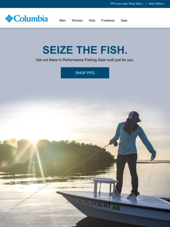 Columbia Sportswear: The fish are calling    | Milled