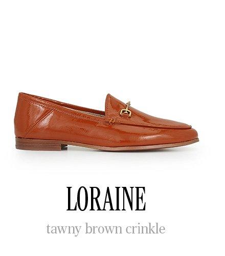 LORAINE tawny brown crinkle