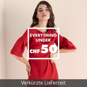 Everything under CHF 50