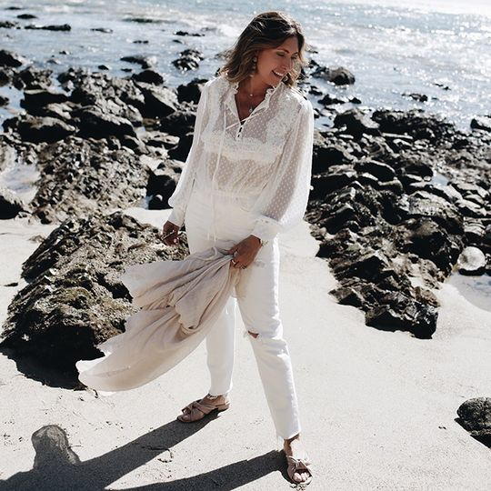 A Chic 54-Year-Old Shares Her Under-$125 Summer Vacation Wardrobe