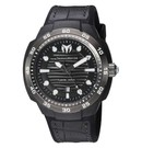 TechnoMarine Sun Reef 45mm watch with Carbon Fiber Black + Gunmetal Black dial 515 Quartz
