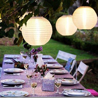 Weatherproof Solar LED Outdoor Lantern in 5 Colors