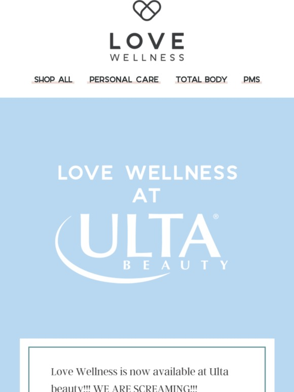Love Wellness: read for really big news 🚨 | Milled