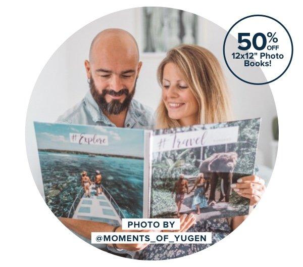 50% Off 12x12 Photo Books