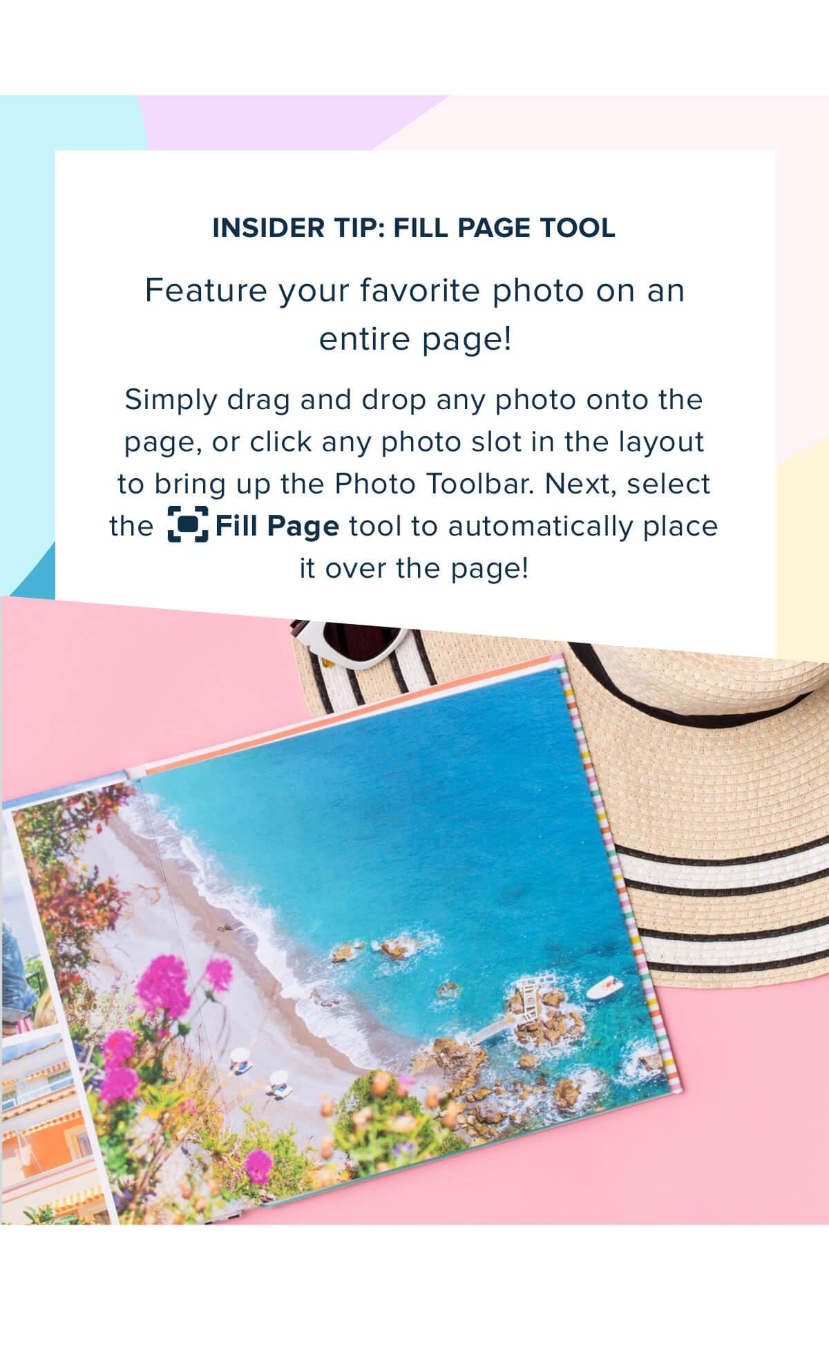 Insider Tip: Fill Page Tool