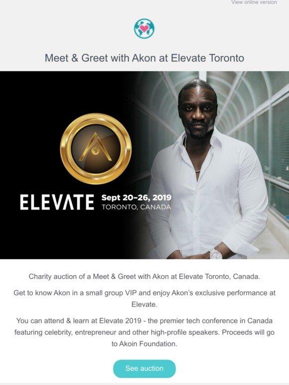 eSolidar: Meet & Greet with Akon at Elevate Toronto | Milled