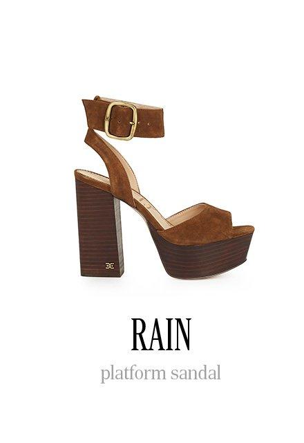 RAIN platform sandal