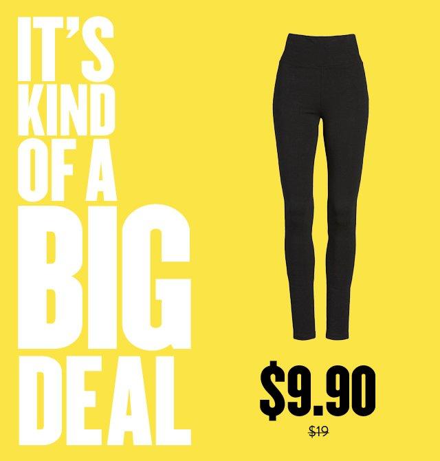 It's kind of a big deal: savings on BP. leggings.
