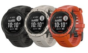 Garmin Instinct Rugged Outdoor Watch with Fitness Software Suite
