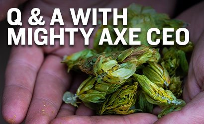Q & A with Eric Sannerud, CEO Mighty Axe Hops
