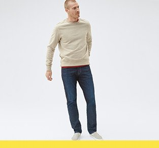 Men's AG jeans at Anniversary sale.