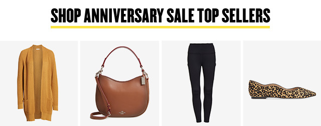 Anniversary Sale top sellers. Prices go up August 5.