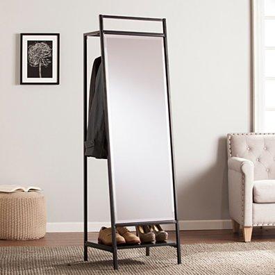 Drake Mirror Hidden Coat Rack