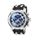 Invicta Bolt Mens Quartz 51.5mm Stainless Steel Case Blue Dial