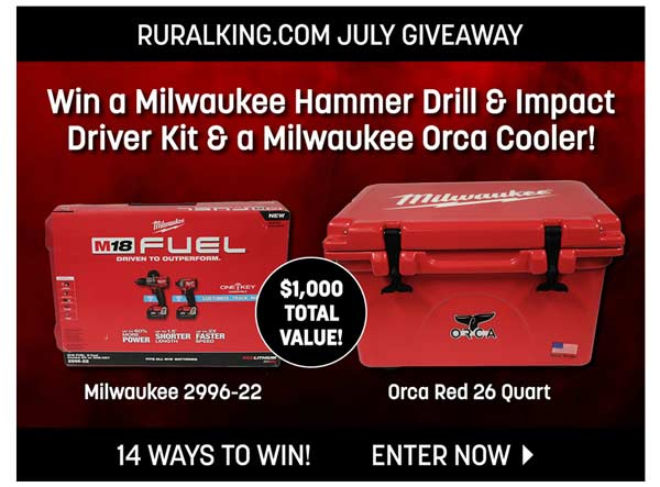 rural king giveaway rural king com what s hot at rural king milled 515