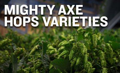 Mighty Axe Hop Varieties