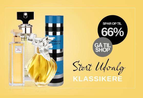 Klassikere kvinder parfume tilbud