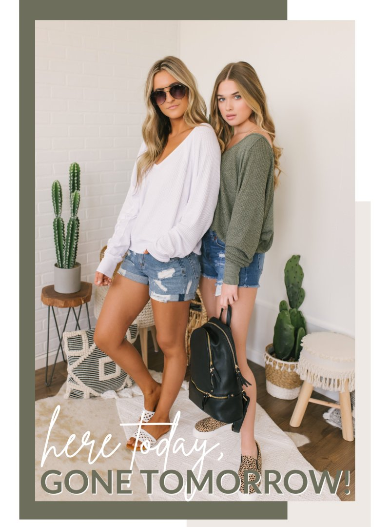 white olive free people top