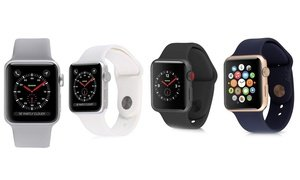 Apple Watch Series 2, 3, or 4 GPS and Cellular with Sport Band (Ref.)
