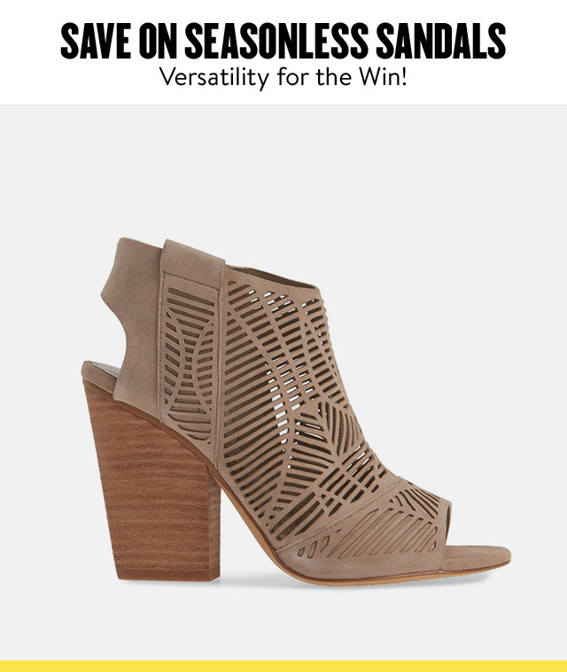 Women's sandals at Anniversary Sale.