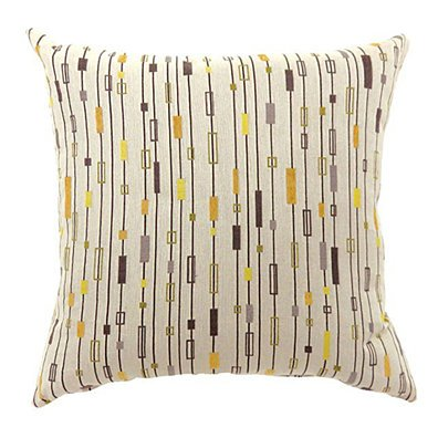 LINA Contemporary Small Pillow With fabric, Multicolor Finish, Set of 2